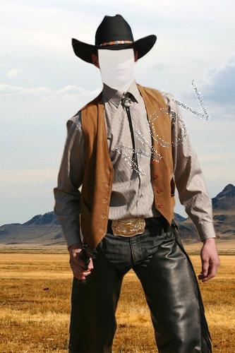 Мужские psd шаблоны для фотошопа в шляпе