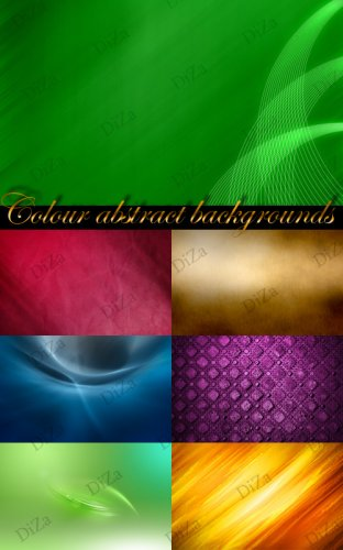 Colour abstract backgrounds