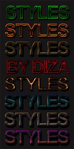 Text styles by DiZa - 2