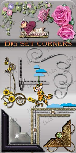 Big set corners