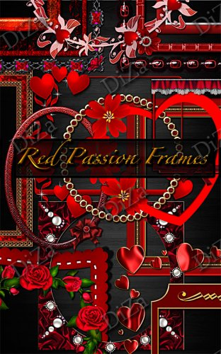 Red Passion Frames