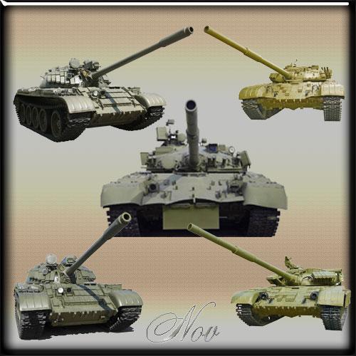 К 23 февраля танки на прозрачном фоне