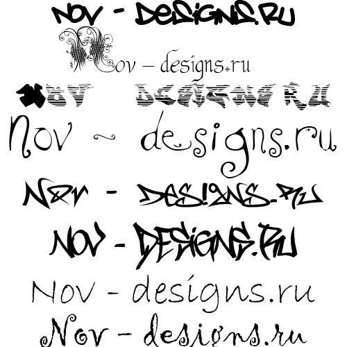 Английские шрифты рукописные и