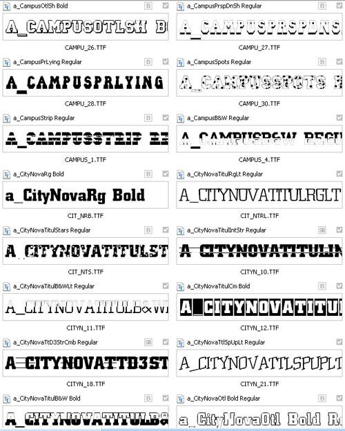 Шрифты для фотошоп кириллические